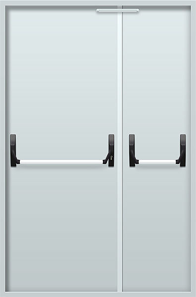двери технические металлические антипаника